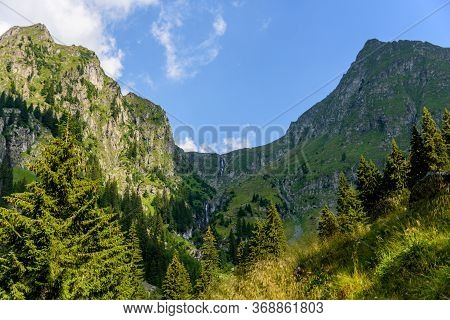 View From Valea Rea (bad Valley), Fagaras Mountain