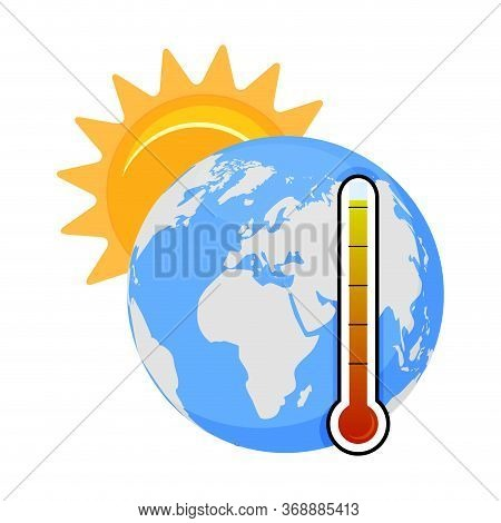 Global Warming Problem, High Temperature On Planet