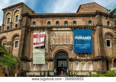 Rome / Italy - May 3, 2015: The Central Museum Of Risorgimento (museo Centrale Del Risorgimento), Hi