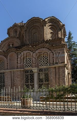 Ancient Byzantine Church Of St. Catherine In City Of Thessaloniki, Central Macedonia, Greece