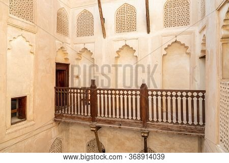 Bahla, Oman - February 11, 2020: View Inside The Jabreen Castle In Bahla, Sultanate Of Oman