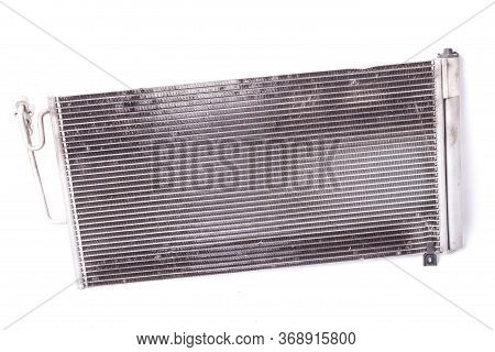 The Process Is In The Cooling Radiator: The Cooler Takes The Heat Energy From The Heated Engine With