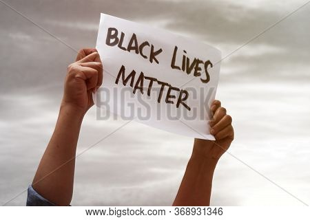 Black Lives Matter, Fight Against Racism, Protest Concept