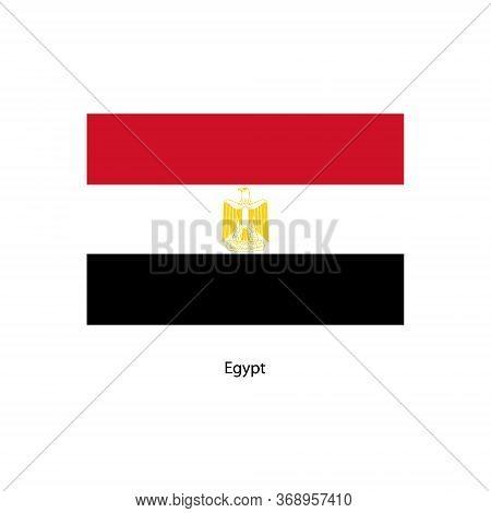 Vector Egypt Flag, Egypt Flag Illustration, Egypt Flag Picture,