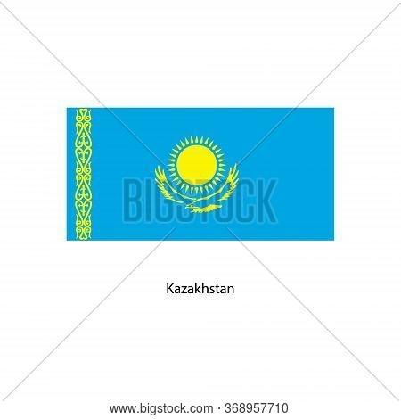 Vector Kazakhstan Flag, Kazakhstan Flag Illustration, Kazakhstan Flag Picture, Kazakhstan Flag Image
