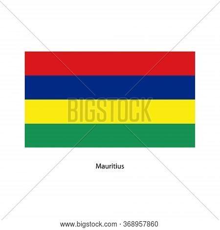 Vector Mauritius Flag, Mauritius Flag Illustration, Mauritius Flag Picture