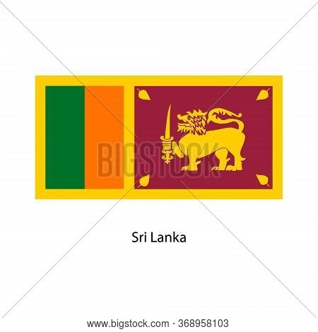Vector Sri Lanka Flag, Sri Lanka Flag Illustration, Sri Lanka Flag Picture