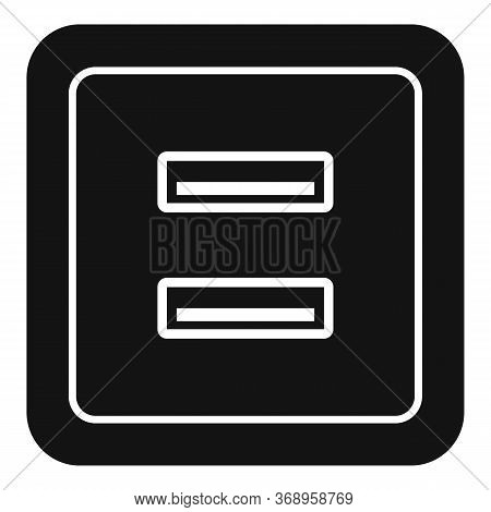 Usb Power Socket Icon. Simple Illustration Of Usb Power Socket Vector Icon For Web Design Isolated O