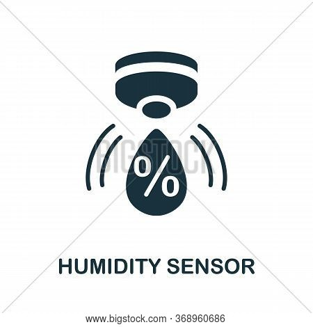 Humidity Sensor Icon. Simple Element From Sensors Icons Collection. Creative Humidity Sensor Icon Ui