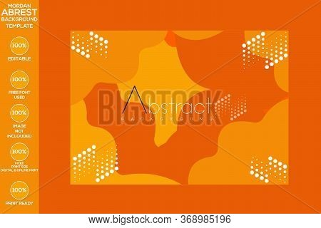 Abstract Background With Glittering Blurry Yellow Lights
