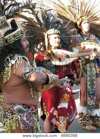 Aztec_ceremony With Music