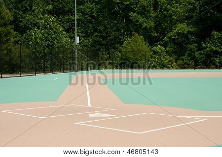 Baseball Field For The Disabled