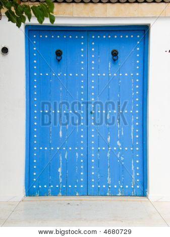Traditional Doors In Tunisia