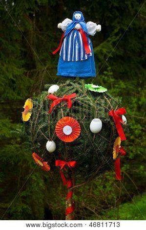 Garden ornaments.