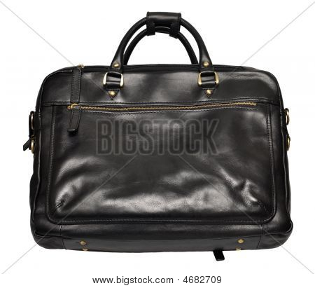 Leather Bag Isolated On White