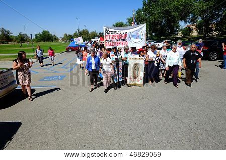 Marching for Immigration Law Reform