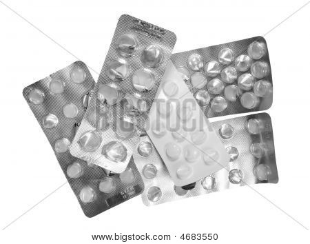 Pill-package