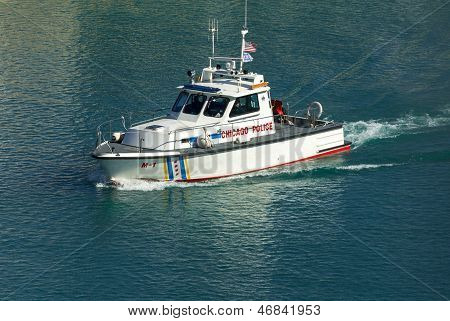 Chicago Police Boat