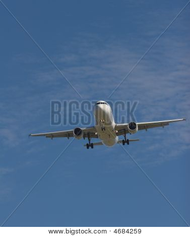 Aircraft Coming In For A Landing