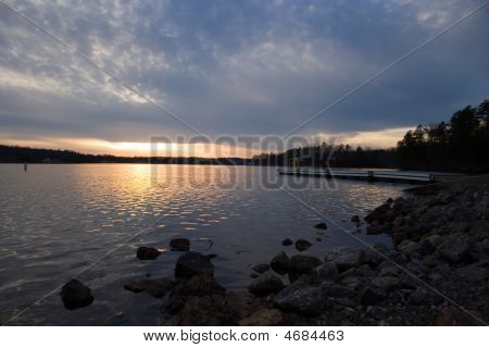 Lake Shore Landscape