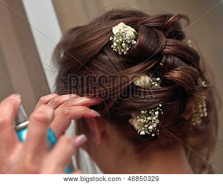 Hairstyling A Spouse