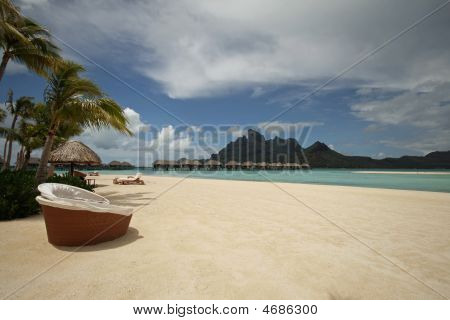Beach View Of Bora-bora