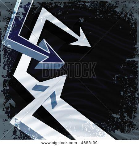 Funky Arrows Layout