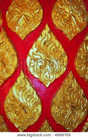 Thai Buddhist Pattern