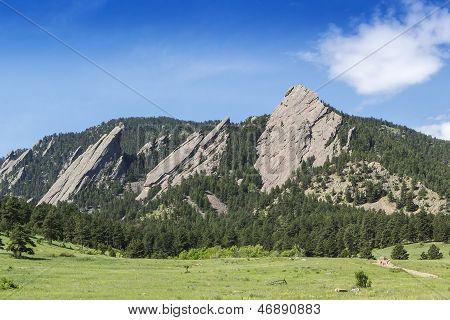 Boulder Colorado Landmark
