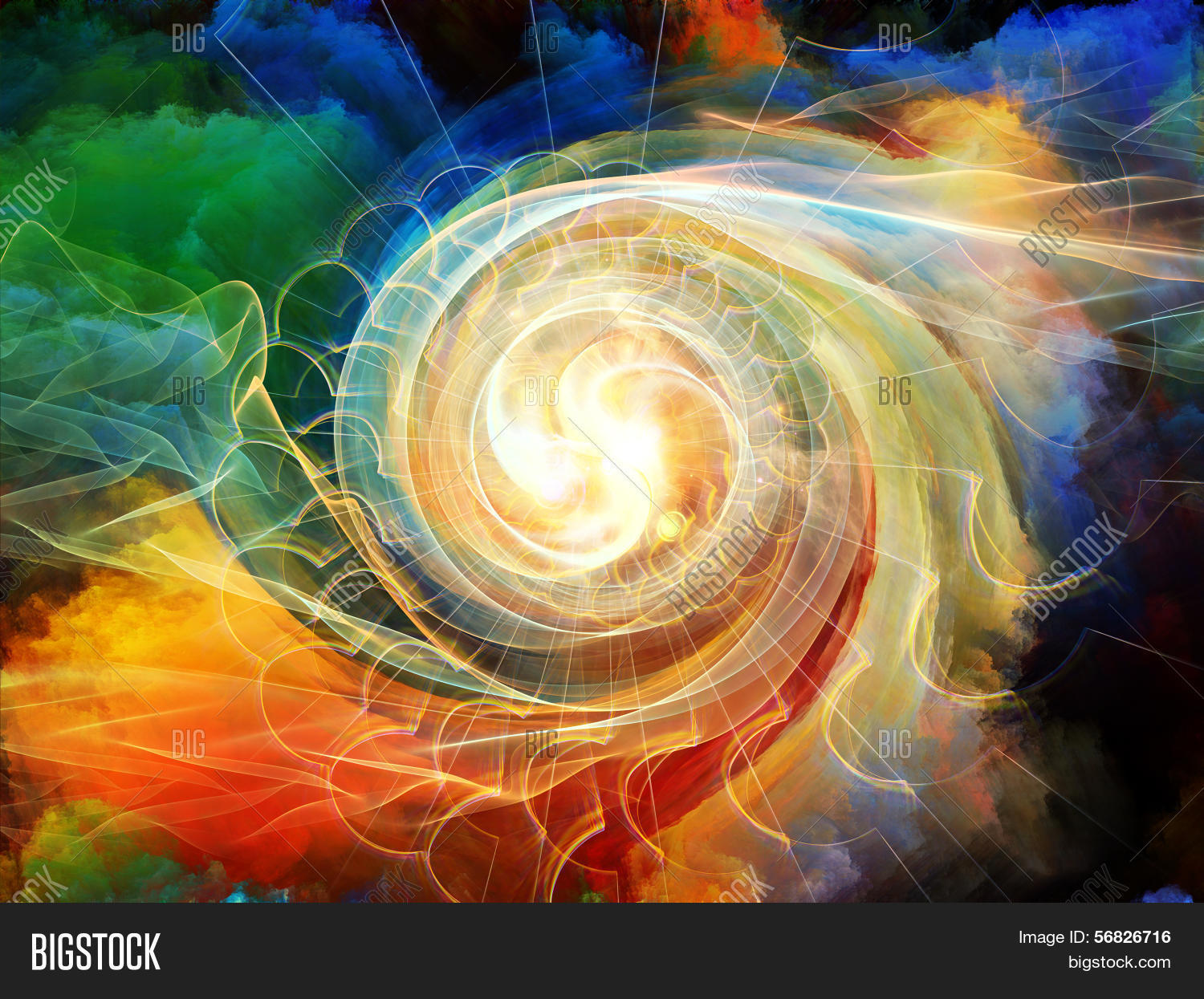 Inside Motion Vortex Image & Photo (Free Trial) | Bigstock