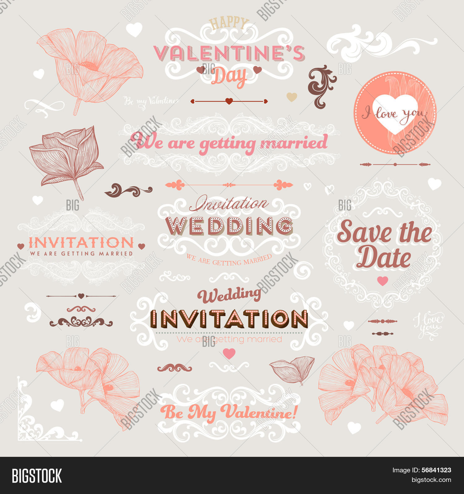 Valentine's Day Vector & Photo (Free Trial) | Bigstock