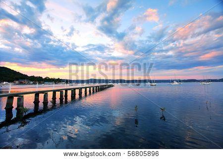 Saratoga Sunset
