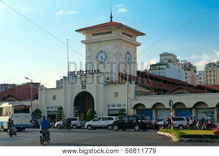 Cho Ben Thanh. Ho Chi Minh City