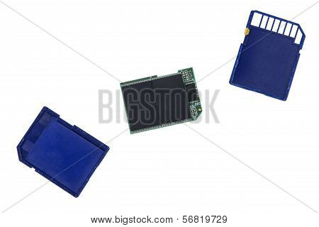 Broken Sdhc Memory Card