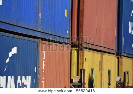 Shipping containers - frame #1