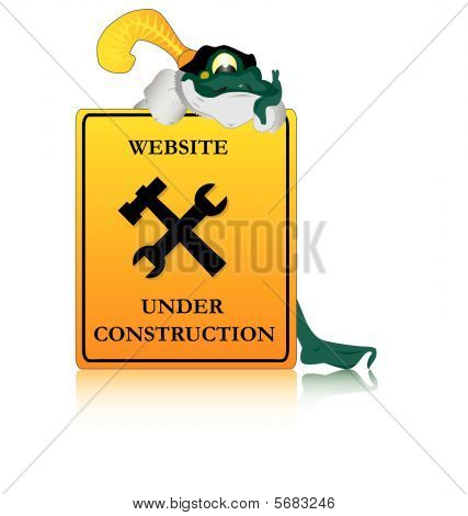 Mr. Frog says website is under construction