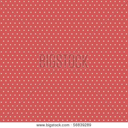 Polkadot retro pattern