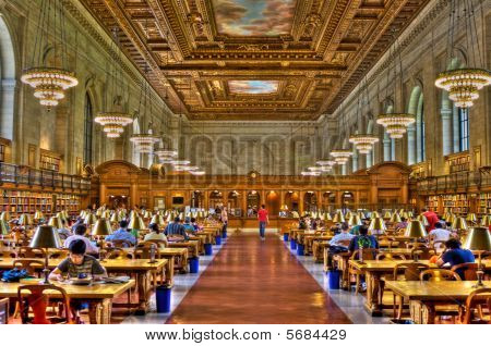 Hdr  New York Public Library