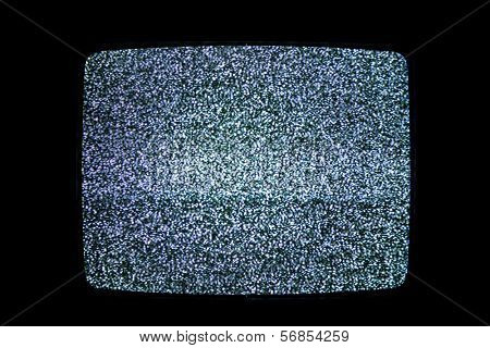 Television noise poster