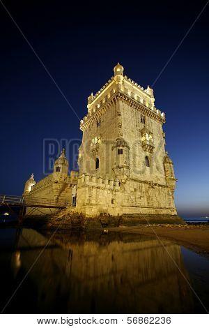 Tower Of Belem, Lisbon, Portugal