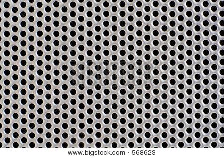 Metal Hole Background