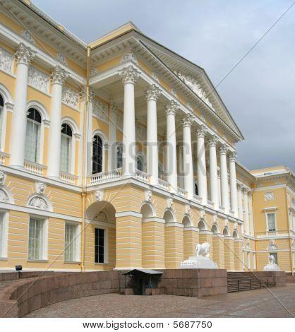 Russian Museum. The Mikhailovsky Palace. St. Petersburg, Russia.