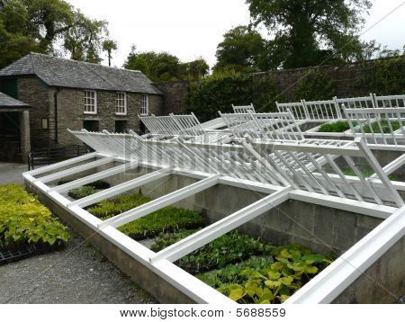 Traditional cold frames