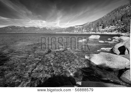 Rocks At The Lakeside