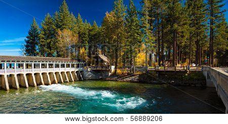 Lake Tahoe Dam