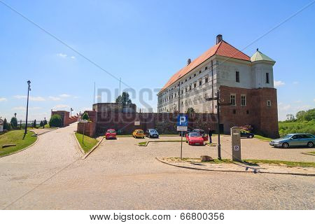 Sandomierz Is Known For Its Old Town, Poland