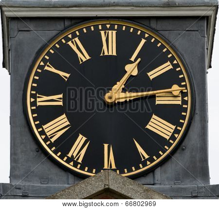 Old Clock Face