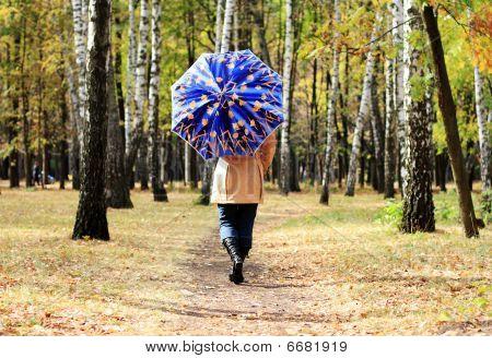 Women With Umbrella