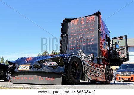 The Fear Of The Dark Heavy Truck Artwork