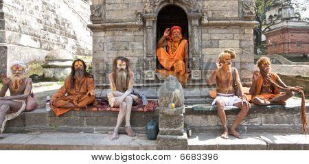 Sadu Holy Men